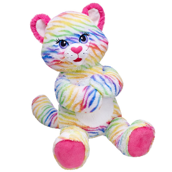 d1a795683dc Penny - Rainbow Stripes Tiger